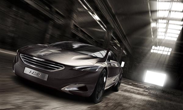 Przód samochodu Peugeot HX1 - nowego kocpetu